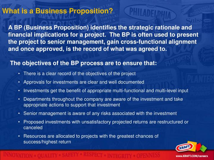 What is a Business Proposition?