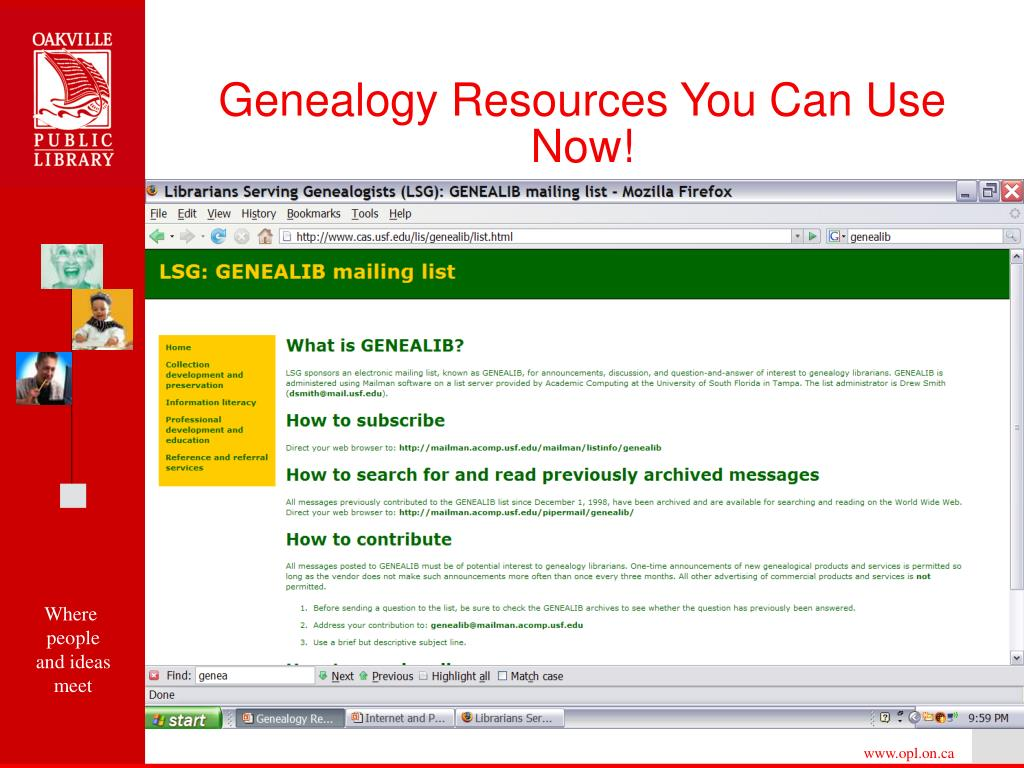 Genealogy Resources You Can Use Now!