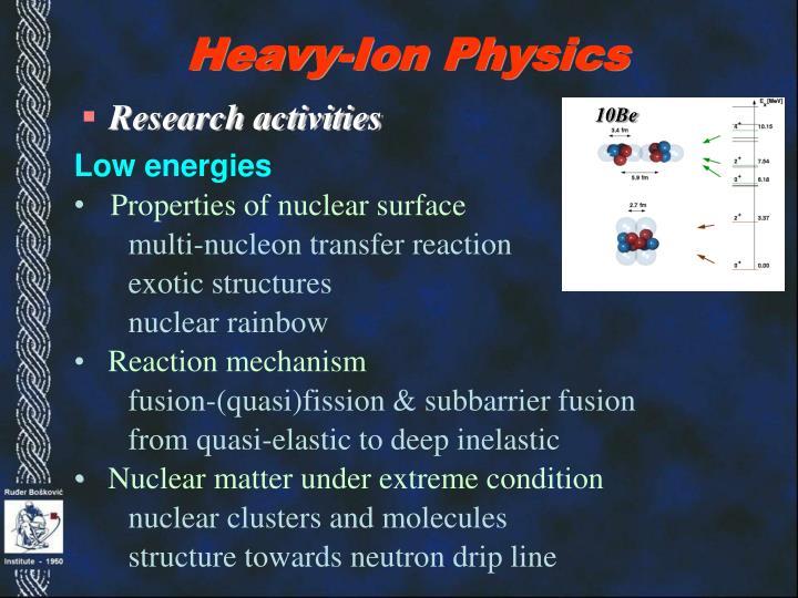 Heavy-Ion Physics