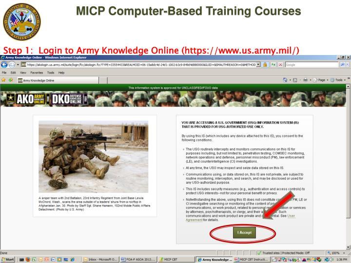 Army Training: Alms Army Training Login