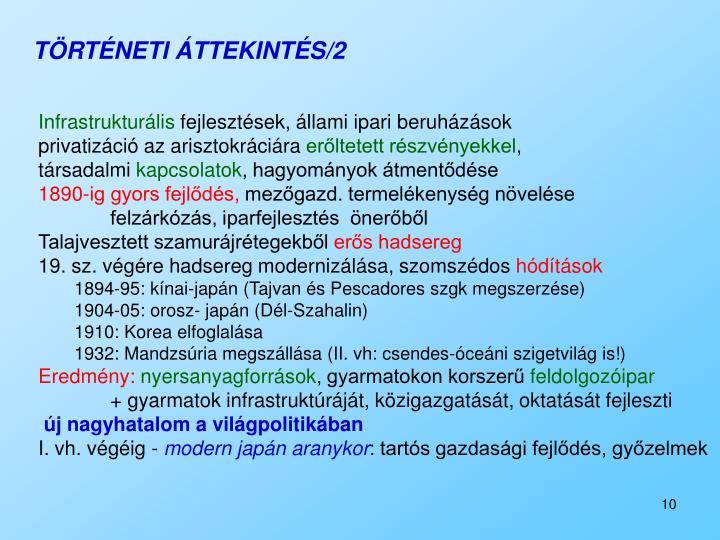 TÖRTÉNETI ÁTTEKINTÉS/2