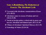 gary a rendsburg the redaction of genesis the abraham cycle30