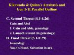 kikawada quinn s atrahasis and gen 1 11 parallel outline26