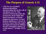 the purpose of genesis 1 1139