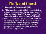 the text of genesis8