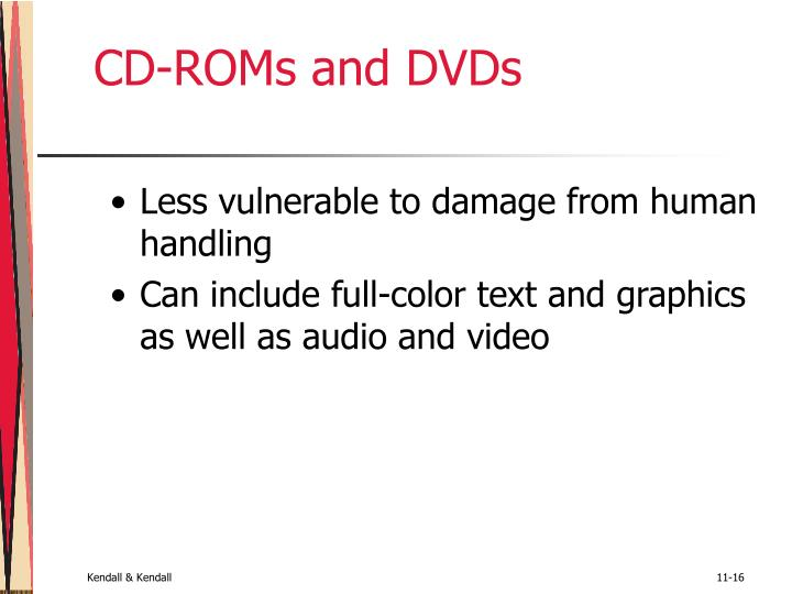 CD-ROMs and DVDs