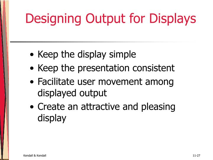 Designing Output for Displays