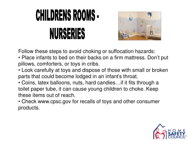 CHILDRENS ROOMS -