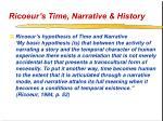 ricoeur s time narrative history18