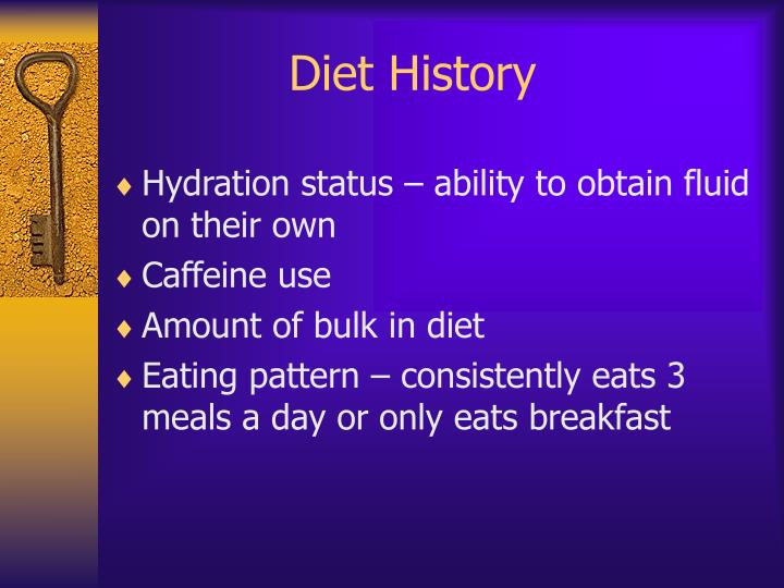 Diet History