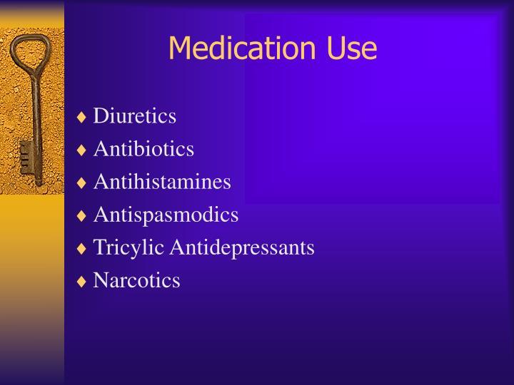 Medication Use