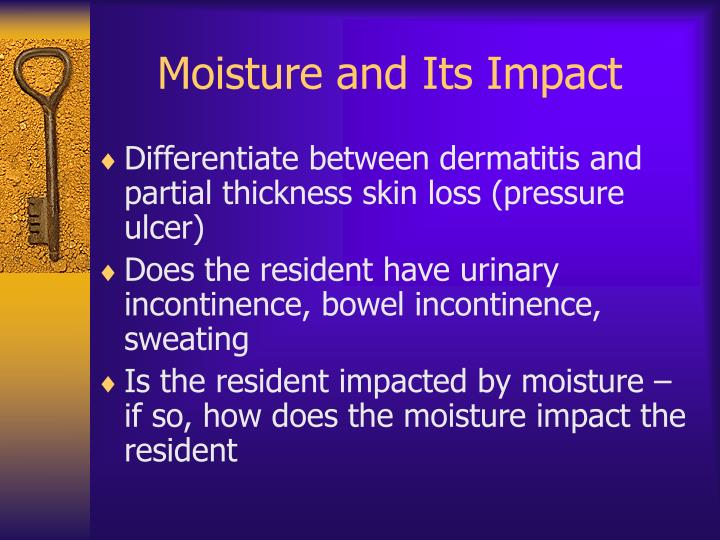 Moisture and Its Impact