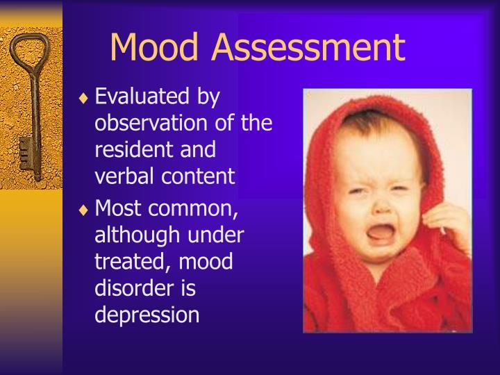 Mood Assessment