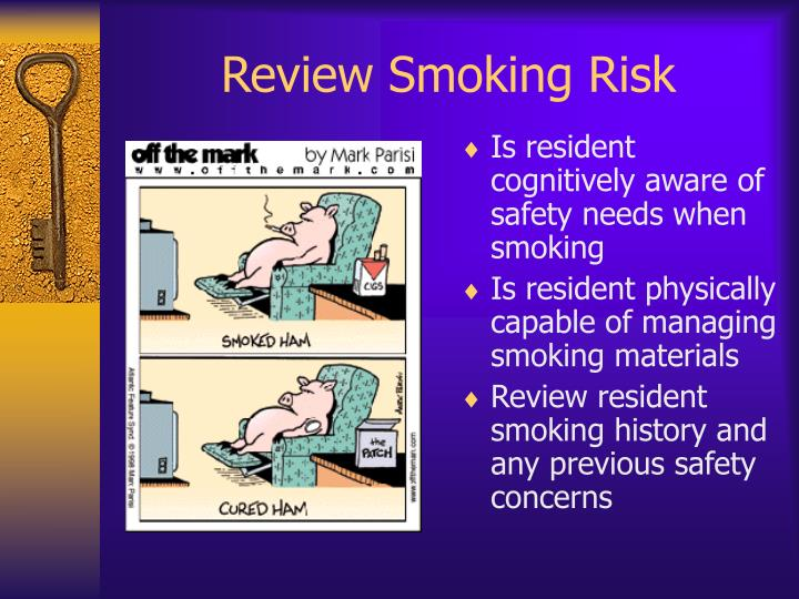 Review Smoking Risk