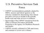 u s preventive services task force1