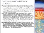 3 connection to political context