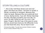 storytelling culture