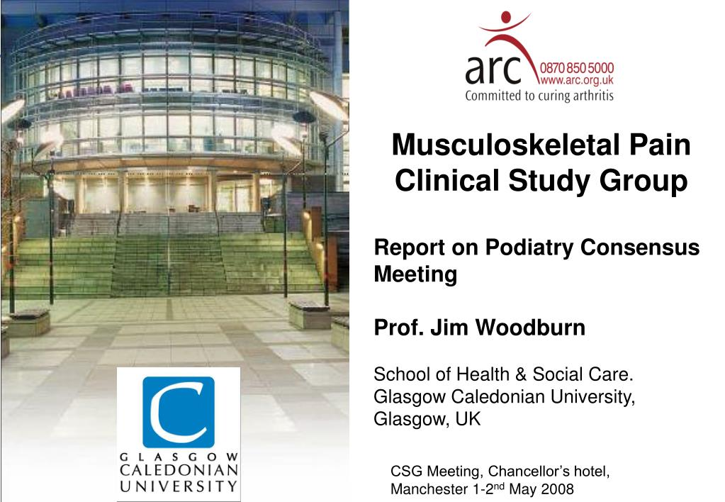 Musculoskeletal Pain Clinical Study Group