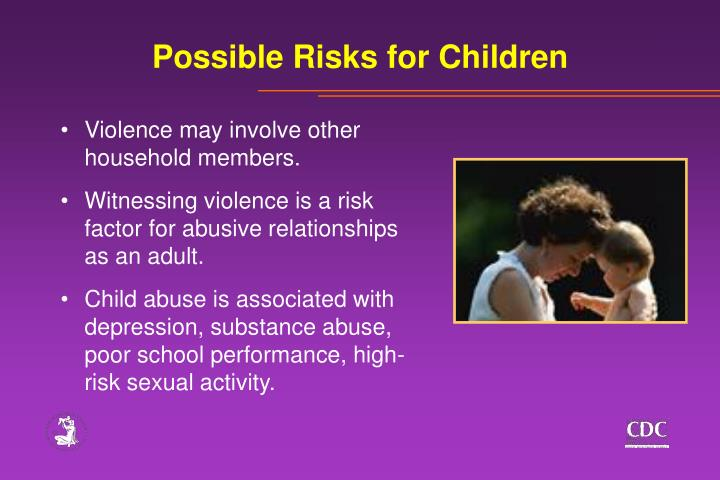 Possible Risks for Children