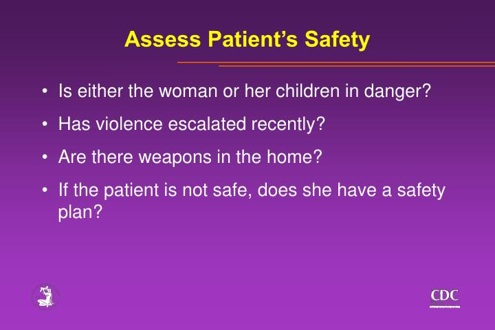 Assess Patient's Safety