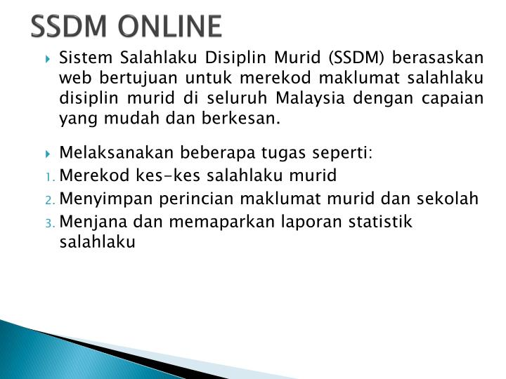 SSDM ONLINE