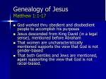 genealogy of jesus matthew 1 1 17