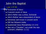 john the baptist luke 1 57 80