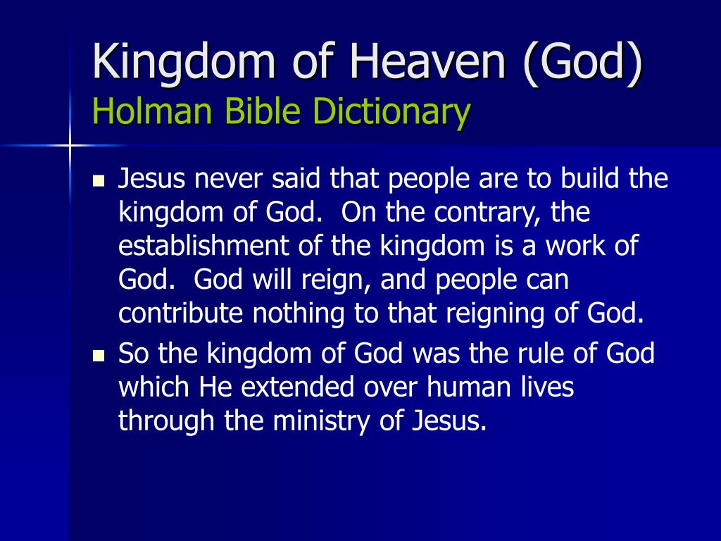 Kingdom of Heaven (God)