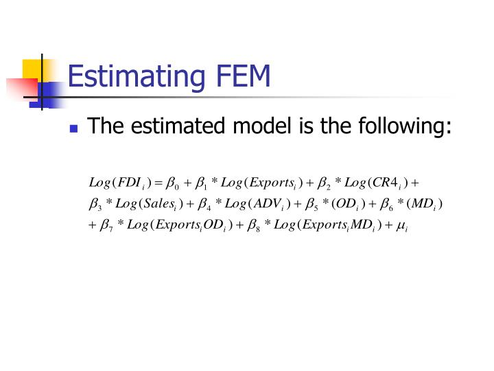 Estimating FEM