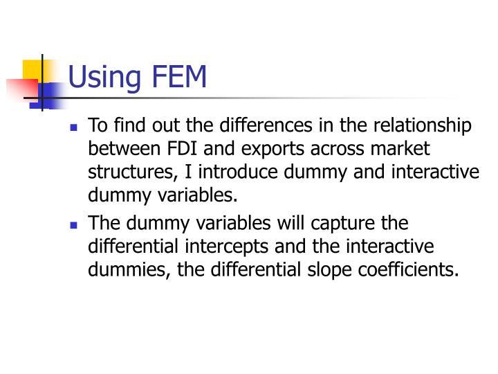 Using FEM