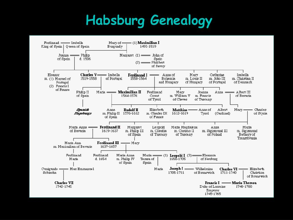 Habsburg Genealogy