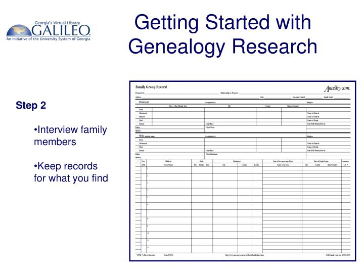 Getting started with genealogy research3 l.jpg
