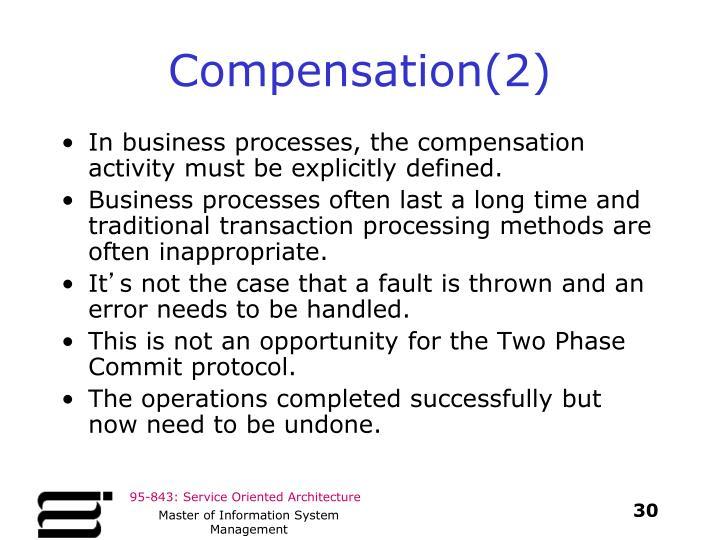 Compensation(2)