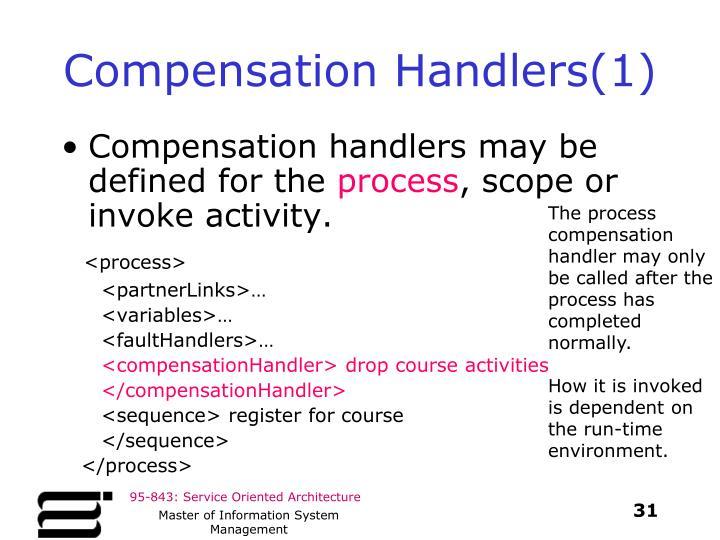 Compensation Handlers(1)