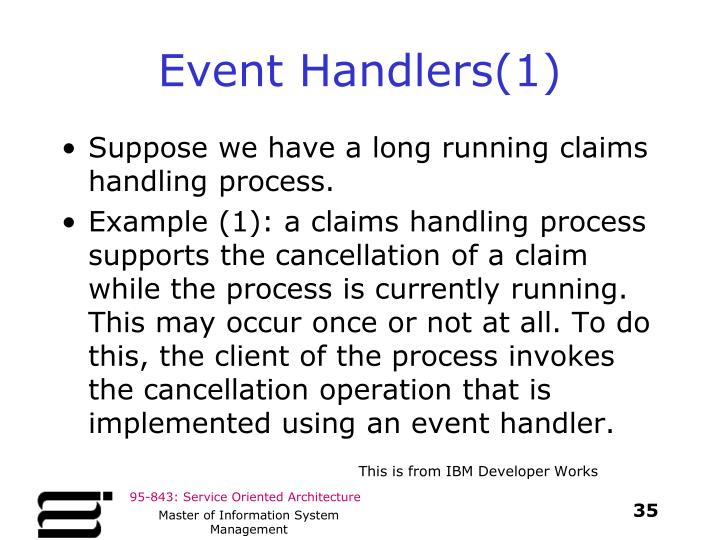 Event Handlers(1)