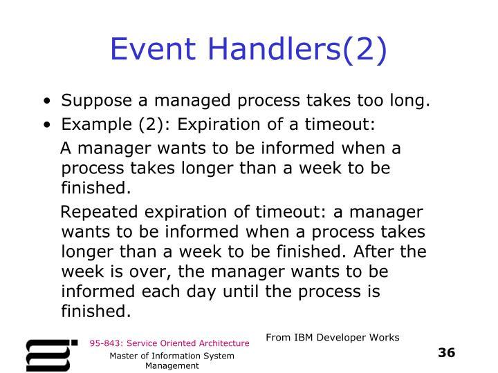 Event Handlers(2)