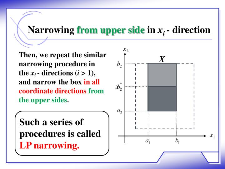 Narrowing