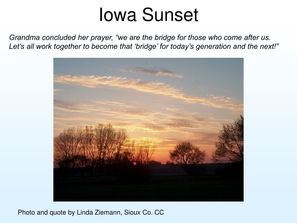 Iowa Sunset