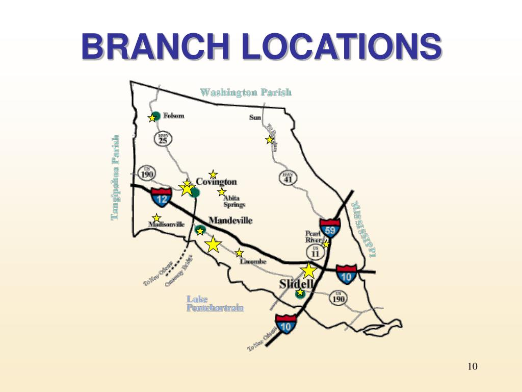 BRANCH LOCATIONS