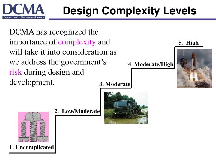 Design Complexity Levels