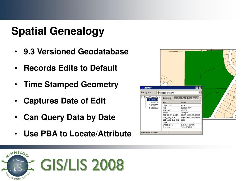 9.3 Versioned Geodatabase