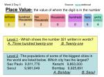 place value the value of where the digit is in the number2