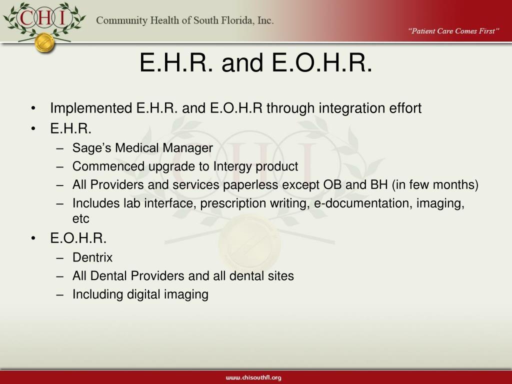 E.H.R. and E.O.H.R.