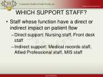 which support staff