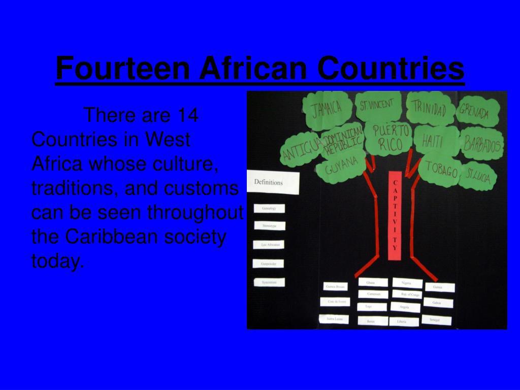 Fourteen African Countries