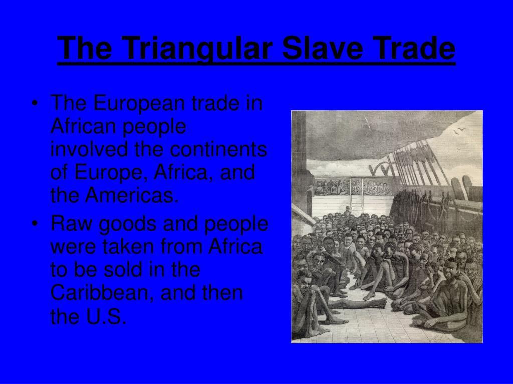 The Triangular Slave Trade