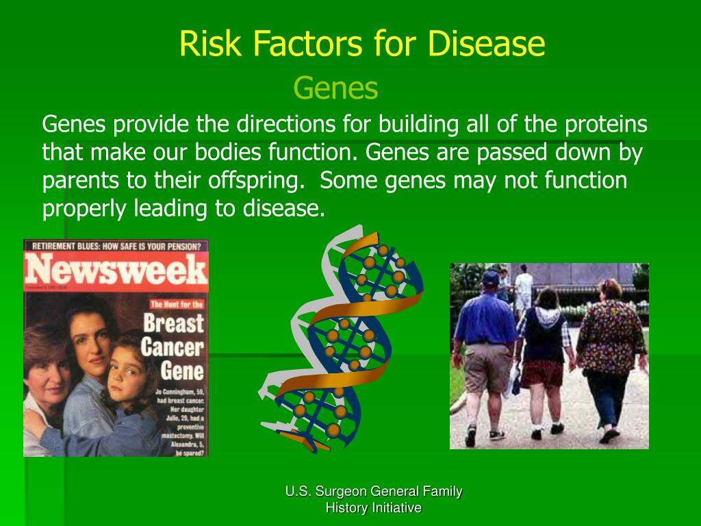 Risk Factors for Disease