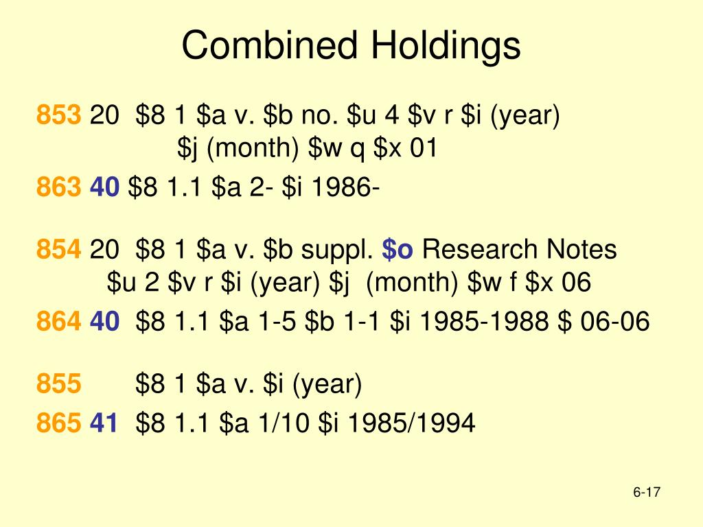 Combined Holdings