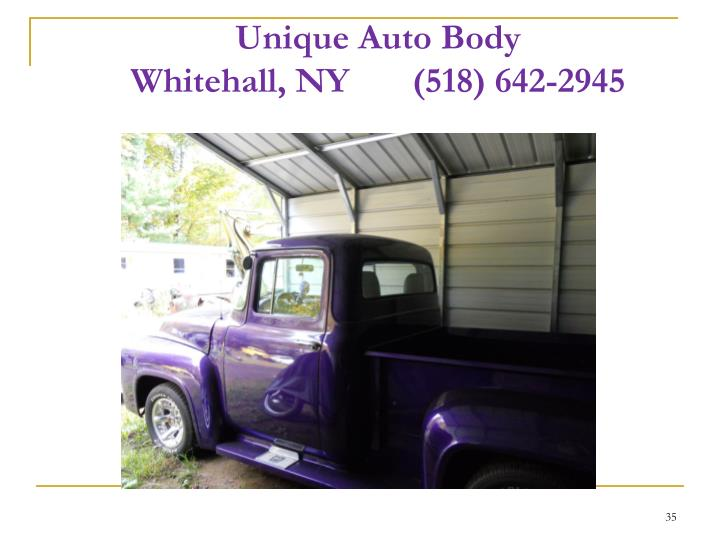 Unique Auto Body
