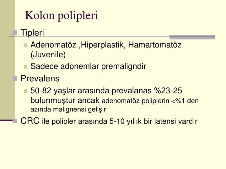 Kolon polipleri